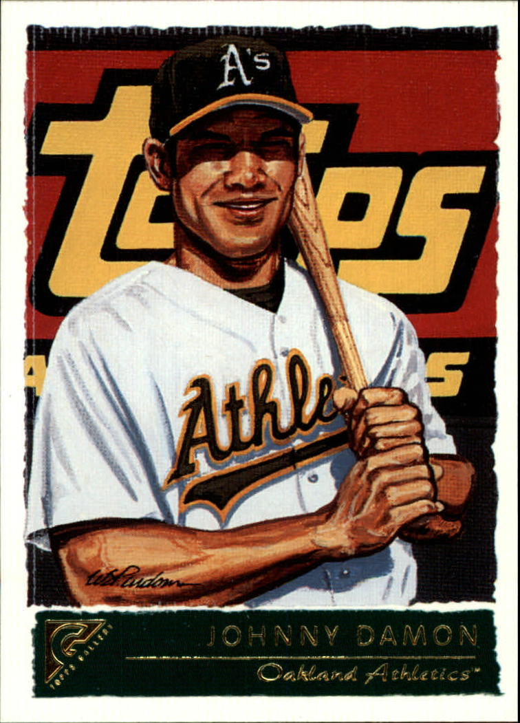 2001 Topps Gallery #87 Johnny Damon