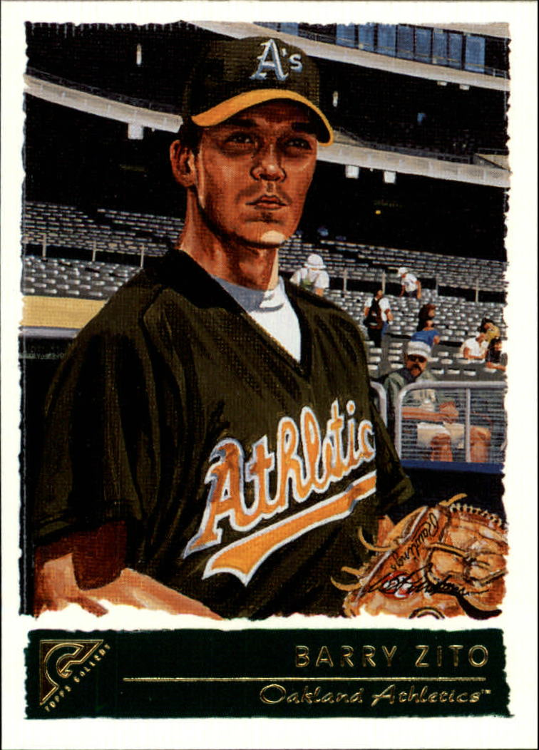 2001 Topps Gallery #97 Barry Zito