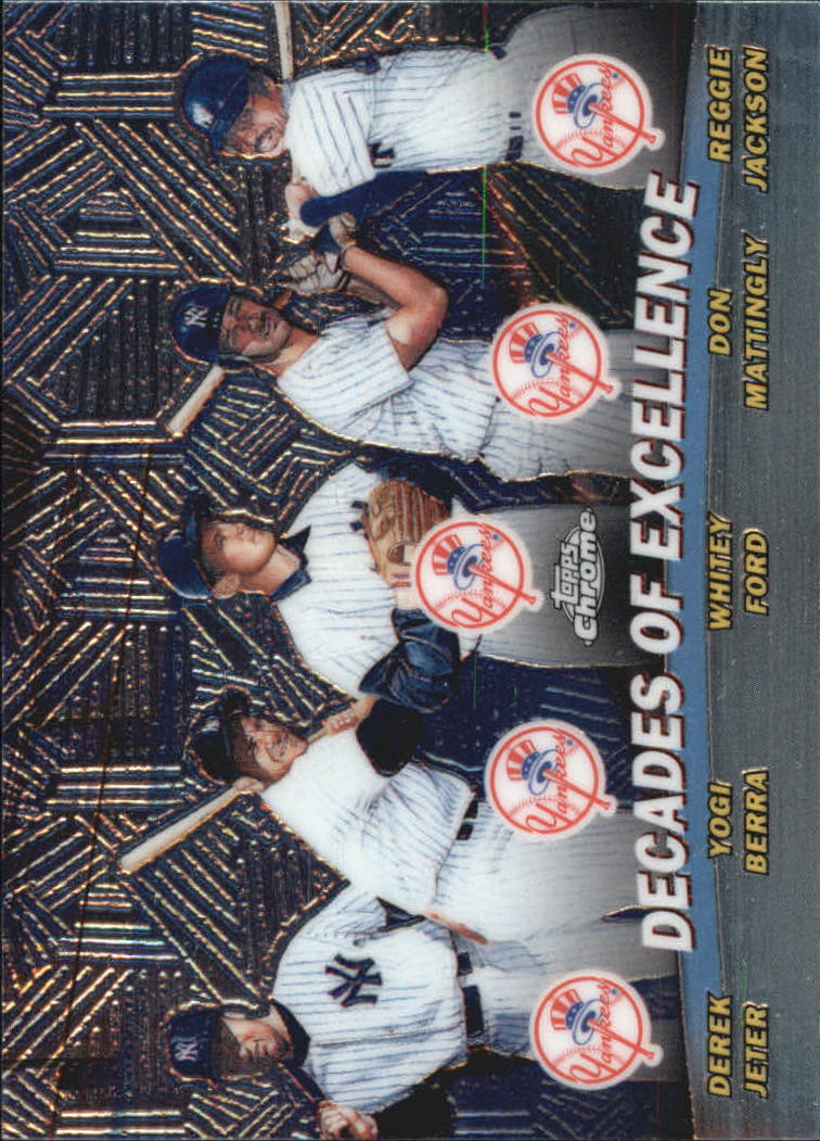 2001 Topps Chrome Combos #TC1 Decades of Excellence front image