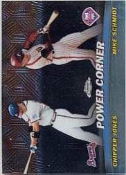 2001 Topps Chrome Combos #TC2 Power Corner