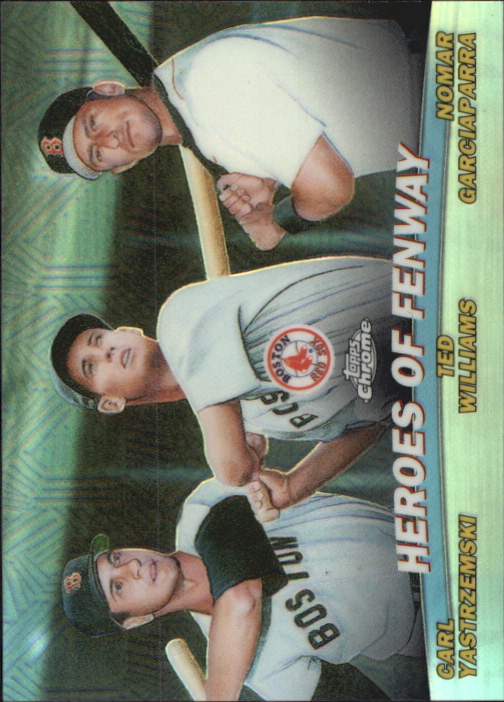 2001 Topps Chrome Combos Refractors #TC13 Heroes of Fenway