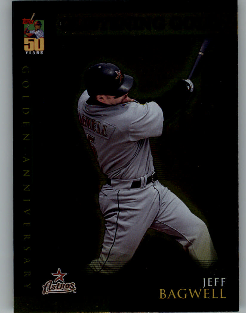 2001 Topps Chrome Golden Anniversary #GA28 Jeff Bagwell