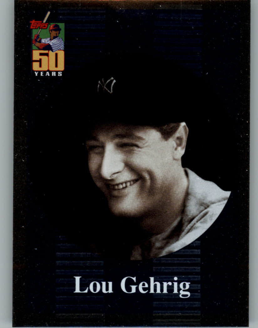 2001 Topps Before There Was Topps #BT1 Lou Gehrig