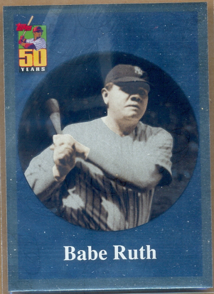 2001 Topps Before There Was Topps #BT2 Babe Ruth