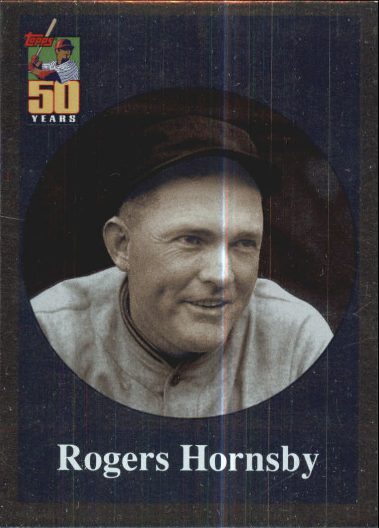 2001 Topps Before There Was Topps #BT6 Rogers Hornsby