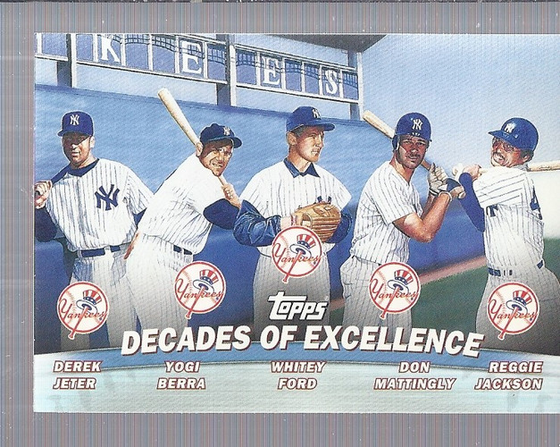 2001 Topps Combos #TC1 Decades of Excellence front image