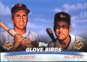 2001 Topps Combos #TC3 Glove Birds back image