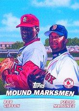 2001 Topps Combos #TC4 Mound Marksmen