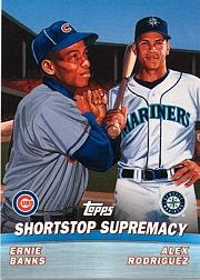 2001 Topps Combos #TC6 Shortstop Supremacy