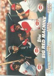 2001 Topps Combos #TC7 Big Red Machine