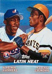 2001 Topps Combos #TC8 Latin Heat