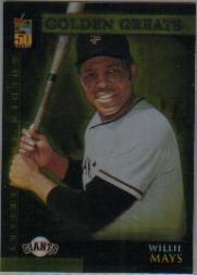 2001 Topps Golden Anniversary #GA4 Willie Mays