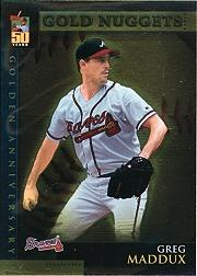 2001 Topps Golden Anniversary #GA15 Greg Maddux