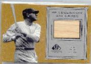 2001 SP Legendary Cuts Game Bat #BBR Babe Ruth SP
