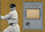 2001 SP Legendary Cuts Game Bat #BKC Kiki Cuyler