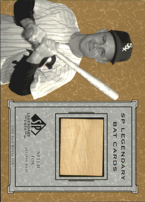 2001 SP Legendary Cuts Game Bat #BNF Nellie Fox