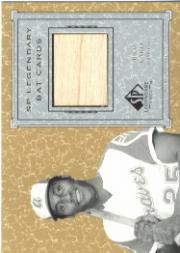 2001 SP Legendary Cuts Game Bat #BRC Rico Carty