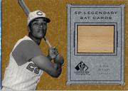 2001 SP Legendary Cuts Game Bat #BVP Vada Pinson