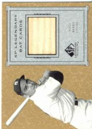 2001 SP Legendary Cuts Game Bat #BYB Yogi Berra