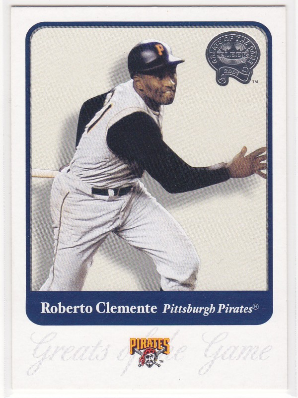 2001 Greats of the Game #1 Roberto Clemente