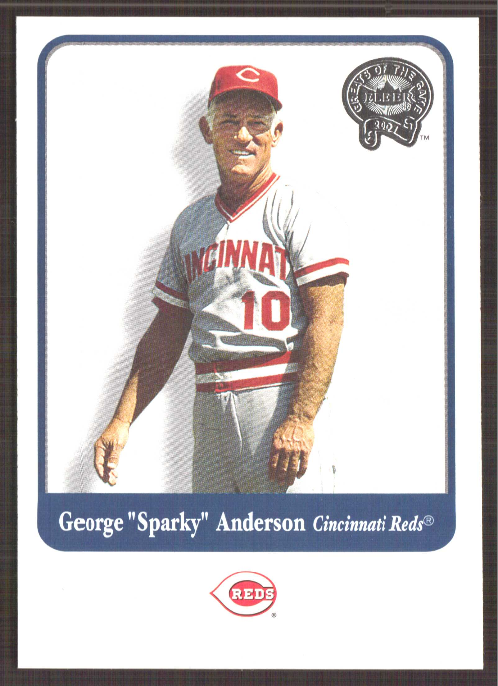2001 Greats of the Game #2 George Anderson