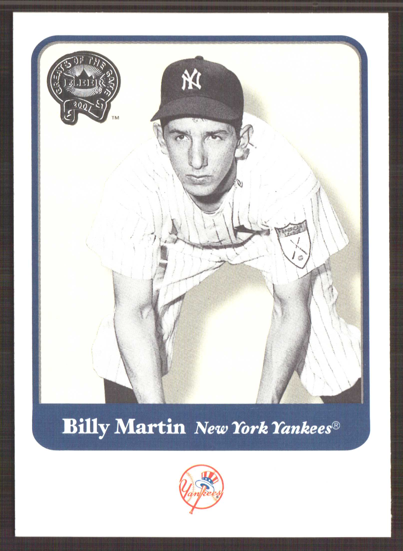 2001 Greats of the Game #7 Billy Martin