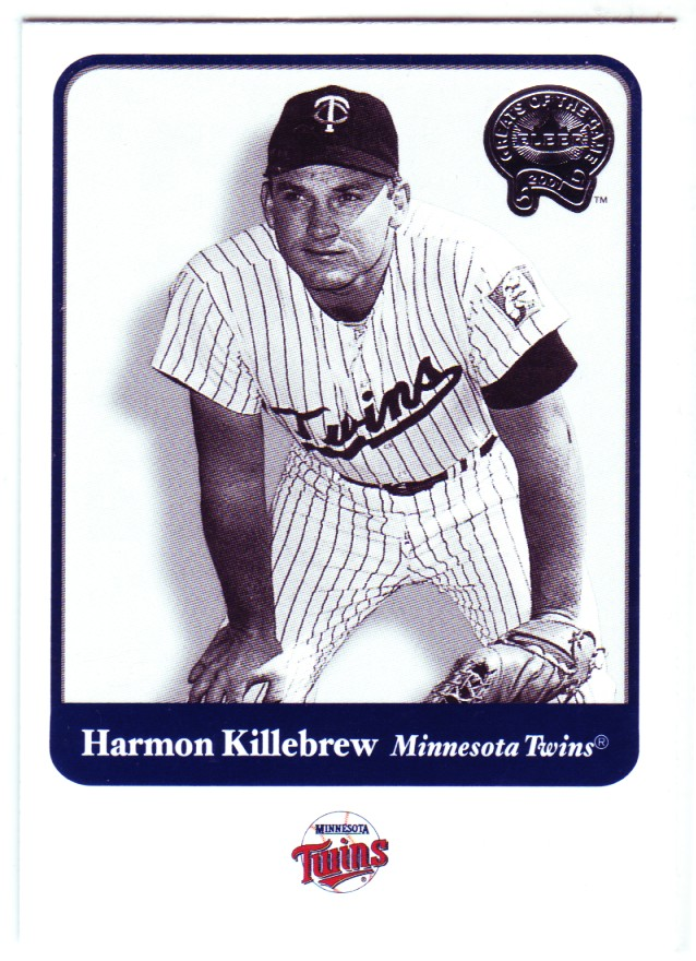 2001 Greats of the Game #11 Harmon Killebrew front image