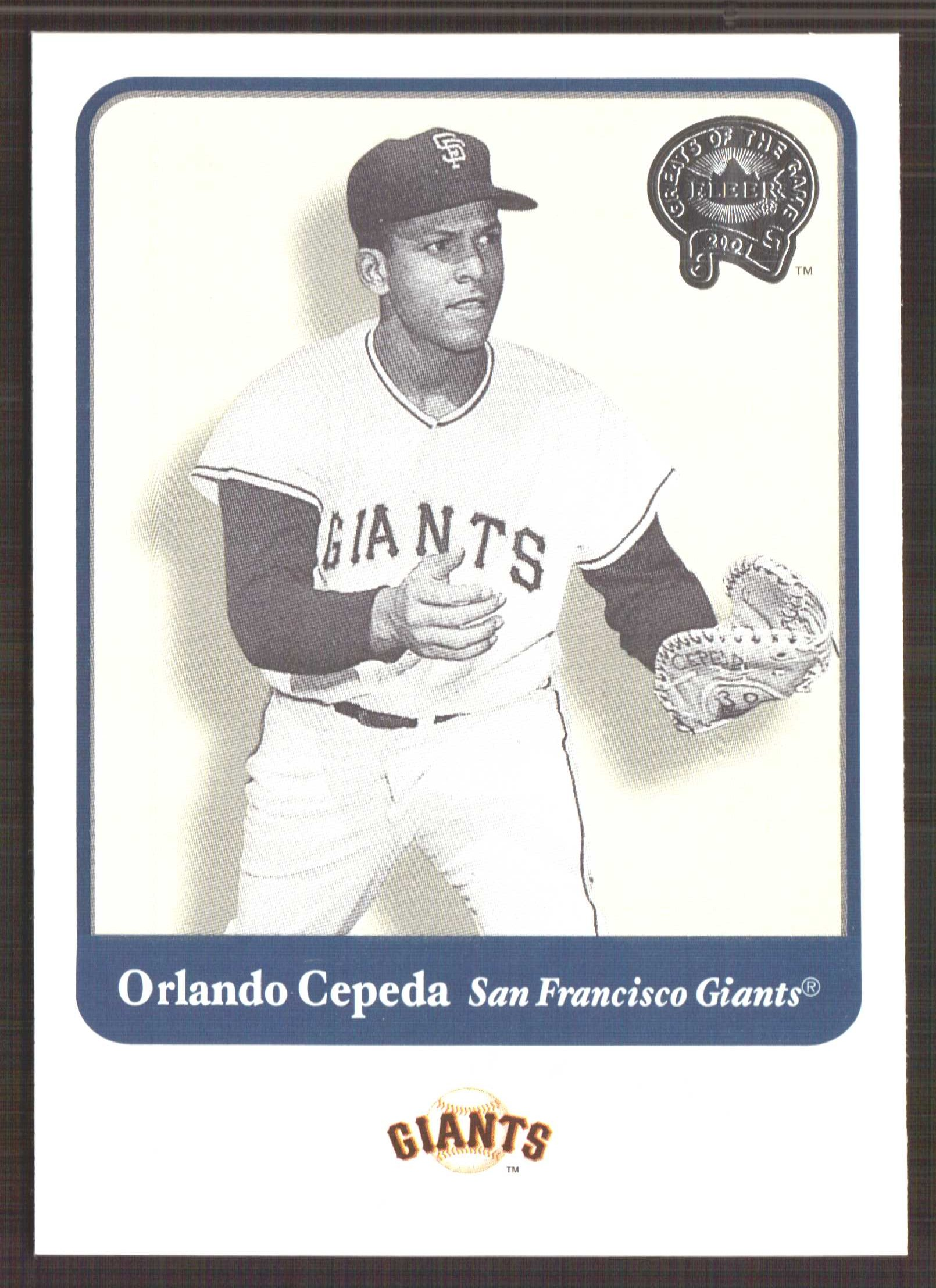 2001 Greats of the Game #13 Orlando Cepeda