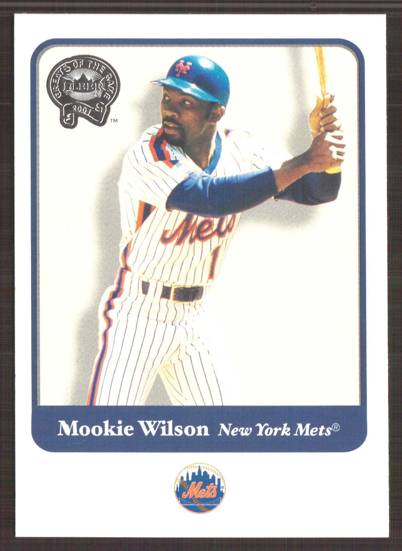 2001 Greats of the Game #18 Mookie Wilson