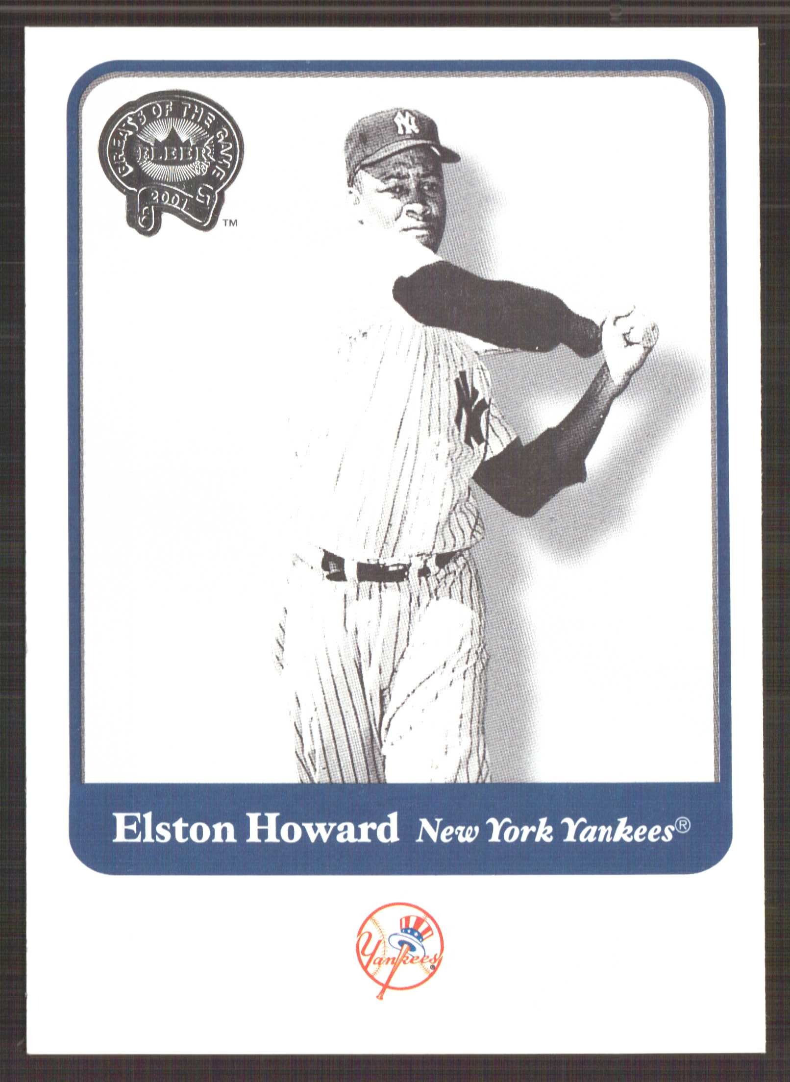 2001 Greats of the Game #19 Elston Howard