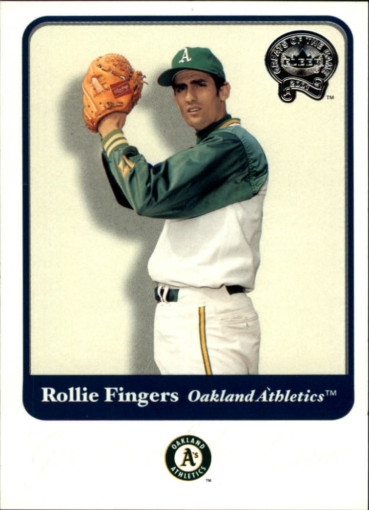 2001 Greats of the Game #21 Rollie Fingers