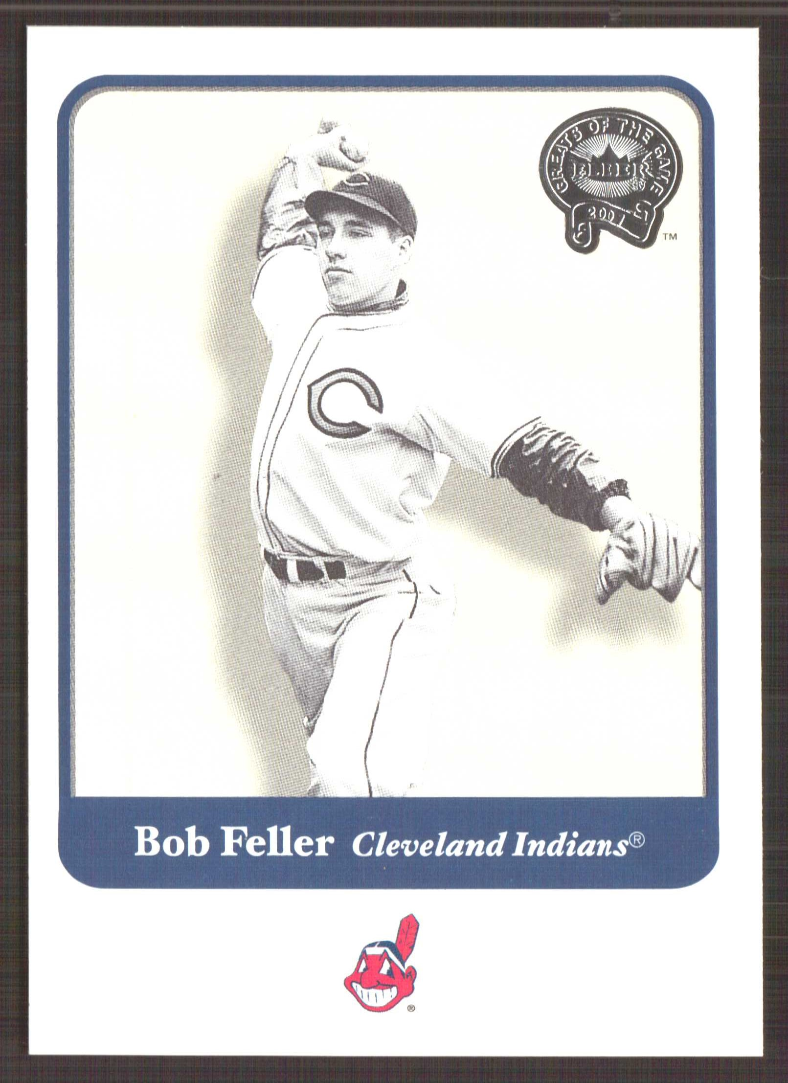2001 Greats of the Game #31 Bob Feller