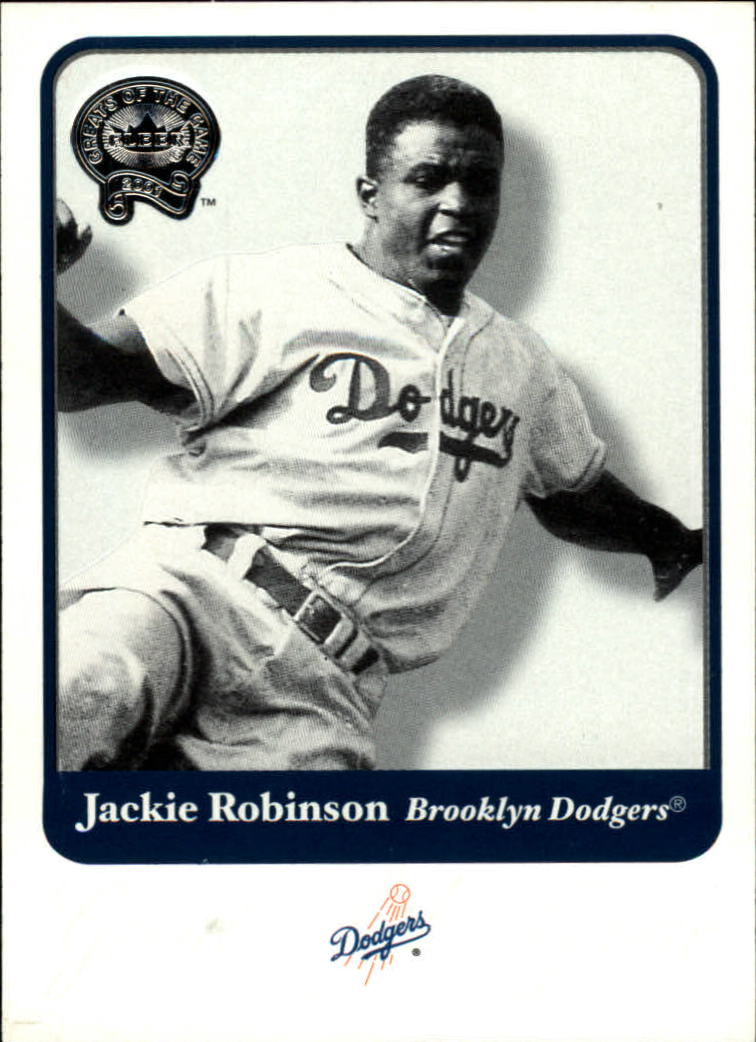 2001 Greats of the Game #32 Jackie Robinson front image