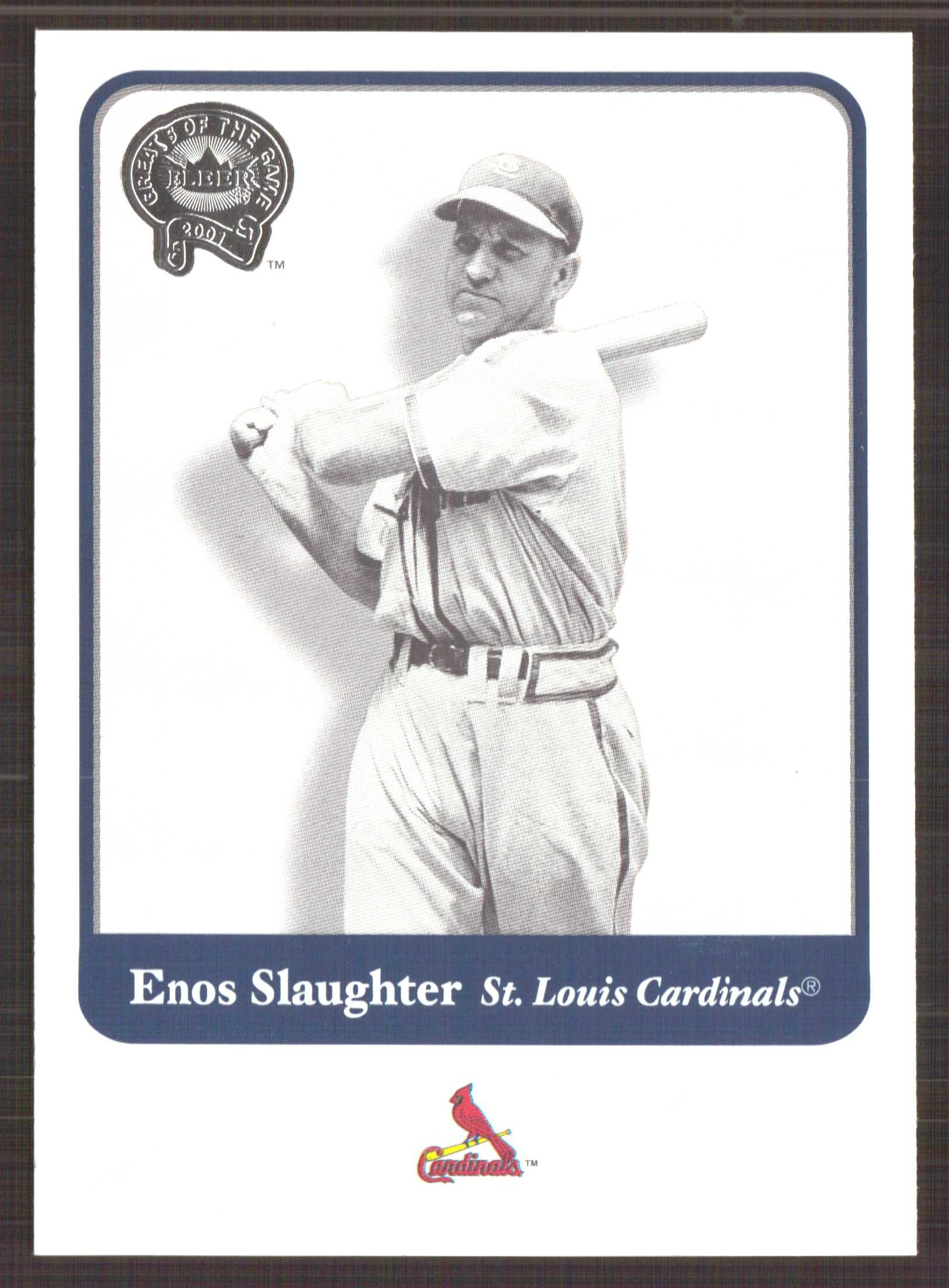 2001 Greats of the Game #34 Enos Slaughter