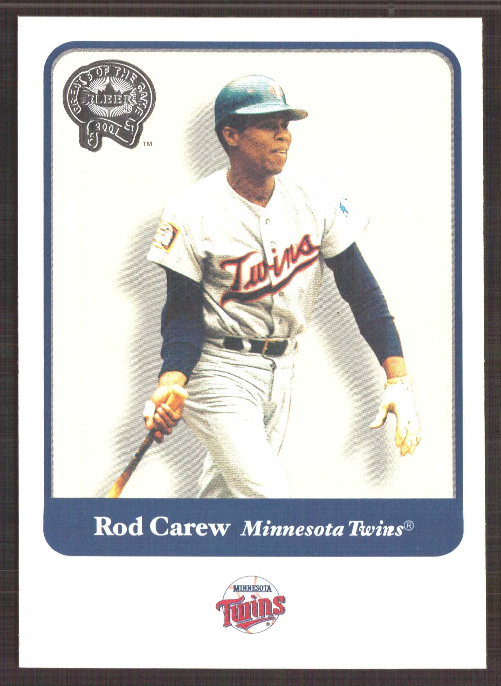 2001 Greats of the Game #35 Rod Carew