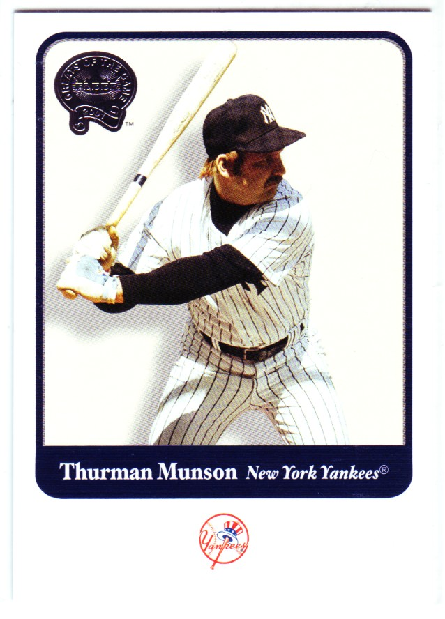 2001 Greats of the Game #38 Thurman Munson
