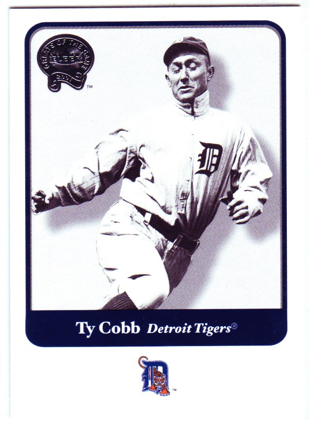 2001 Greats of the Game #40 Ty Cobb