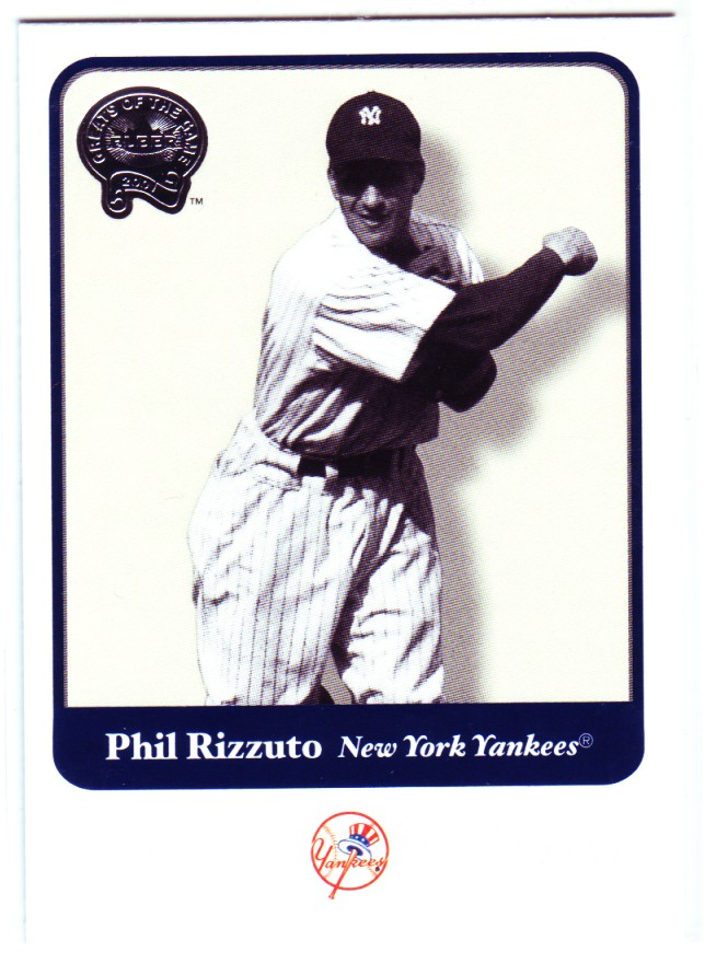 2001 Greats of the Game #44 Phil Rizzuto front image