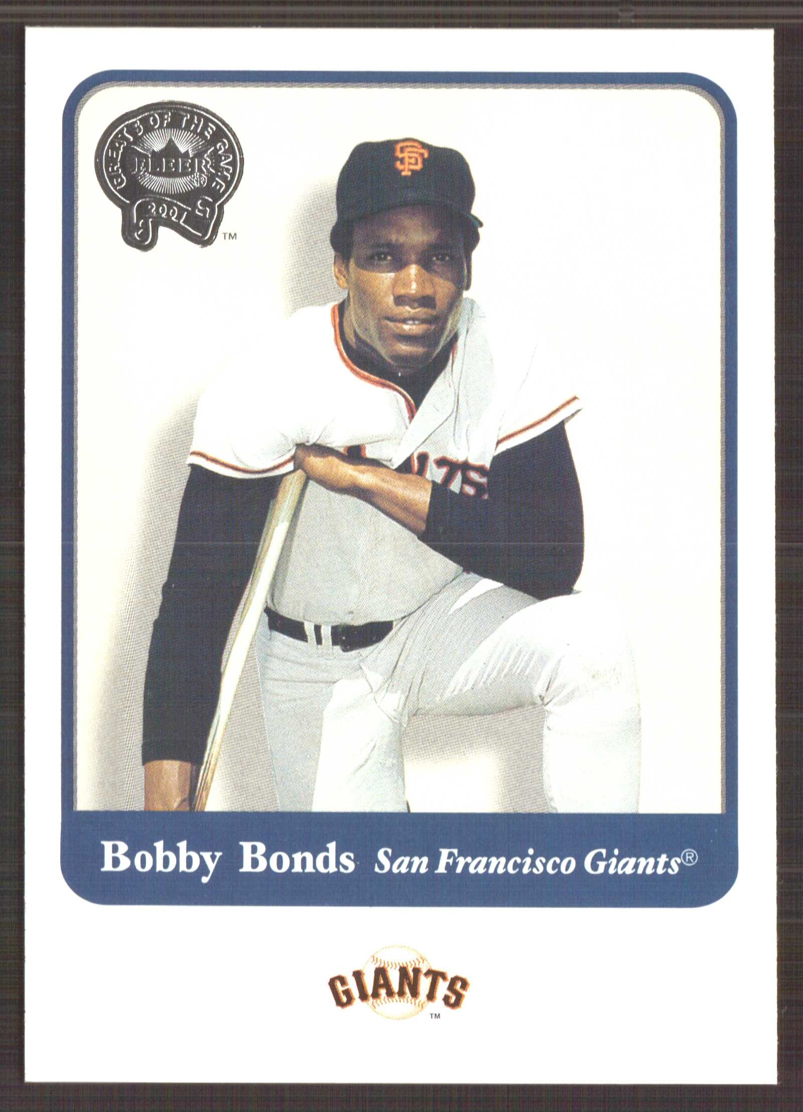 2001 Greats of the Game #46 Bobby Bonds