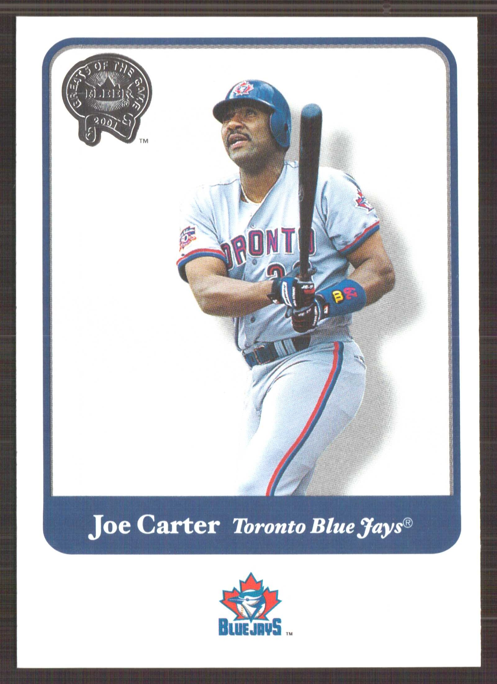2001 Greats of the Game #47 Joe Carter
