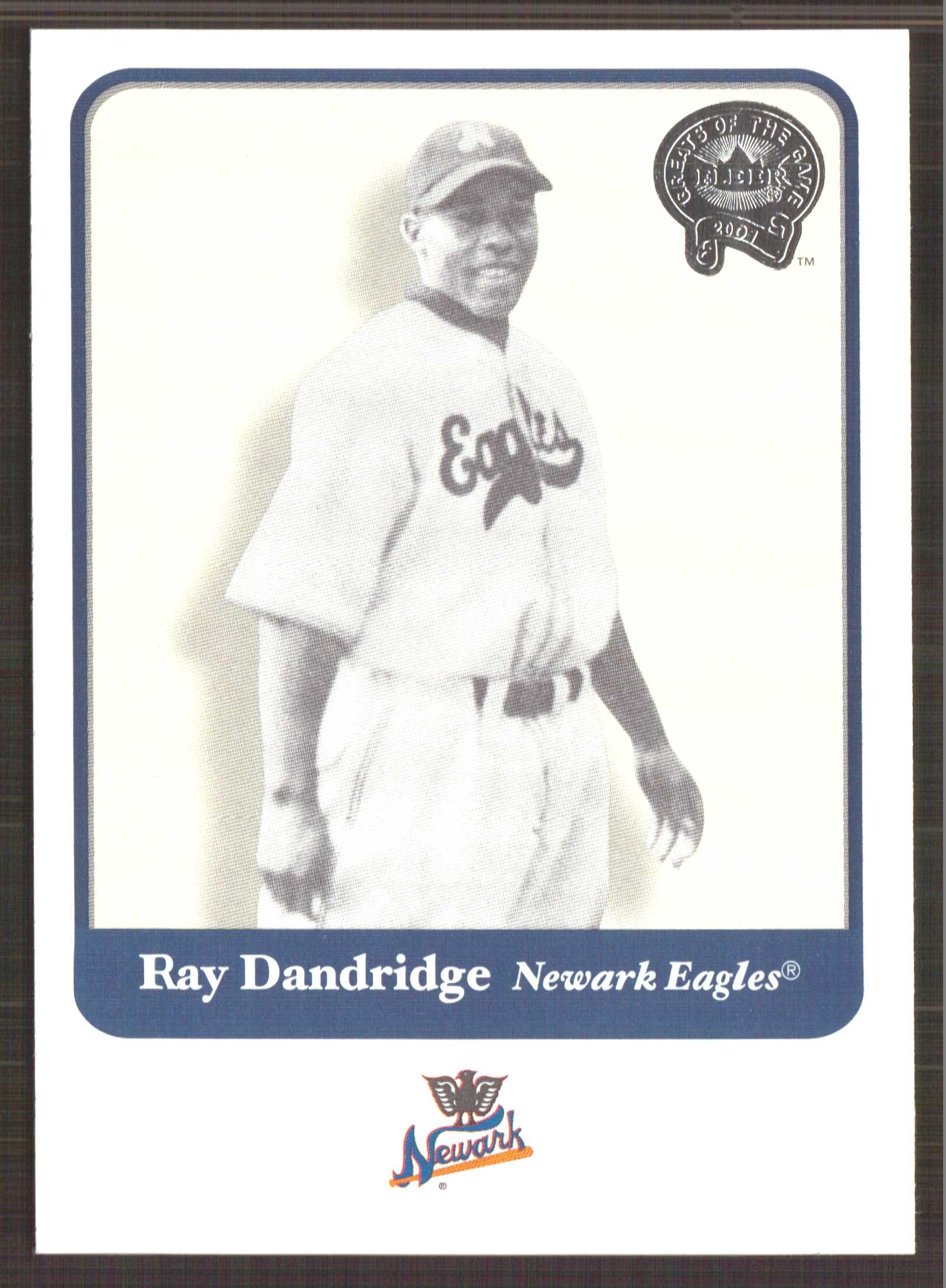 2001 Greats of the Game #51 Ray Dandridge