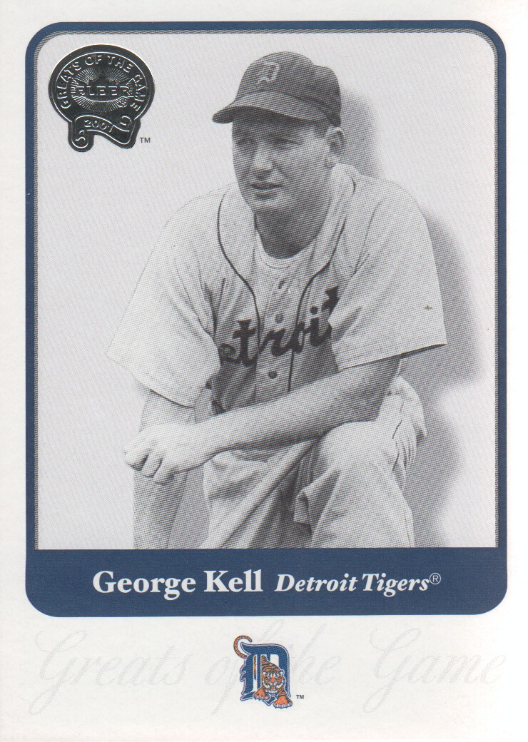 2001 Greats of the Game #55 George Kell