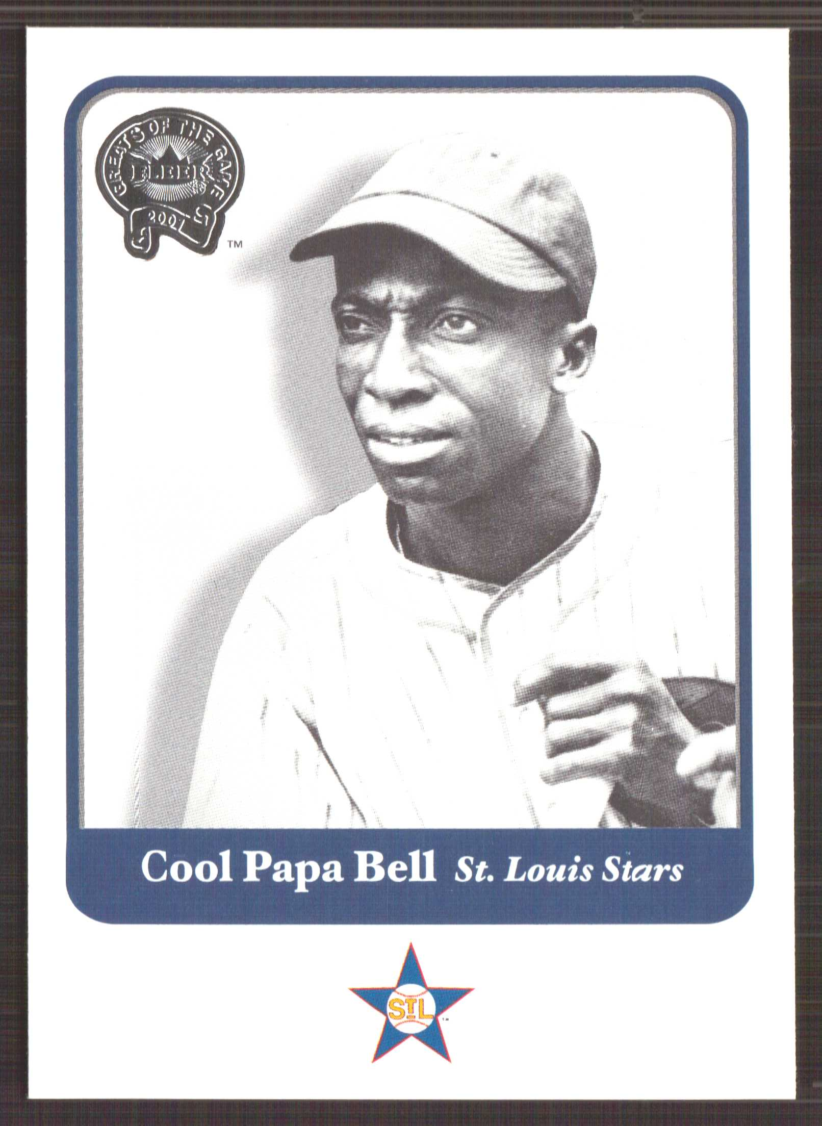 2001 Greats of the Game #64 Cool Papa Bell