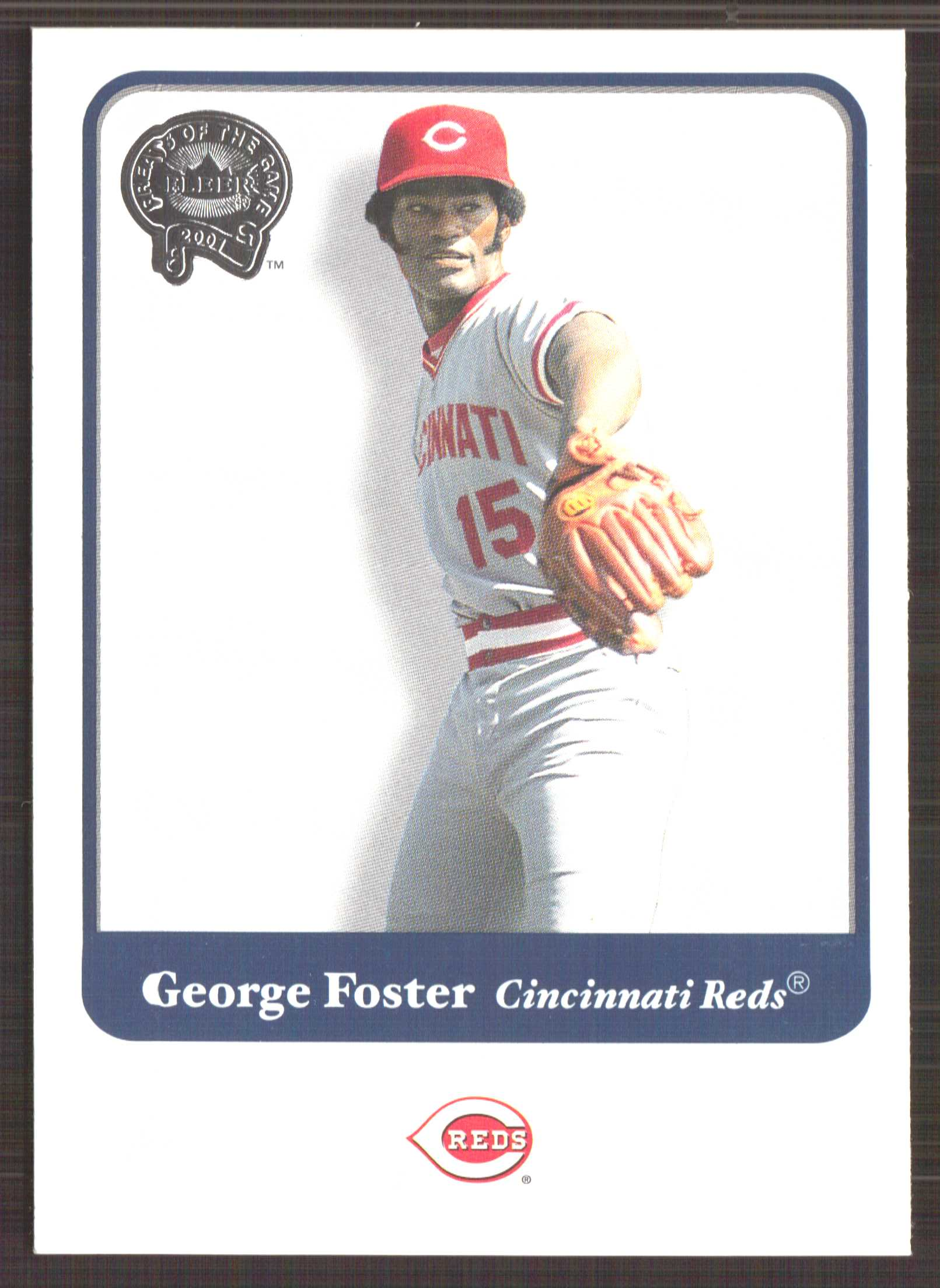 2001 Greats of the Game #68 George Foster