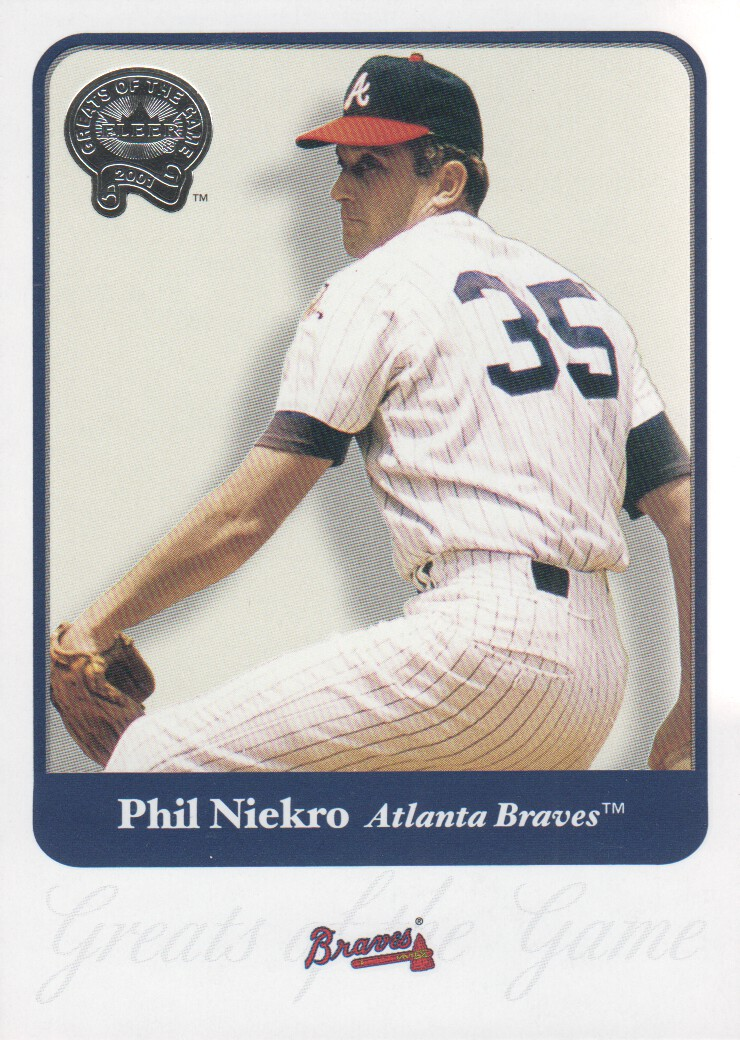 2001 Greats of the Game #70 Phil Niekro