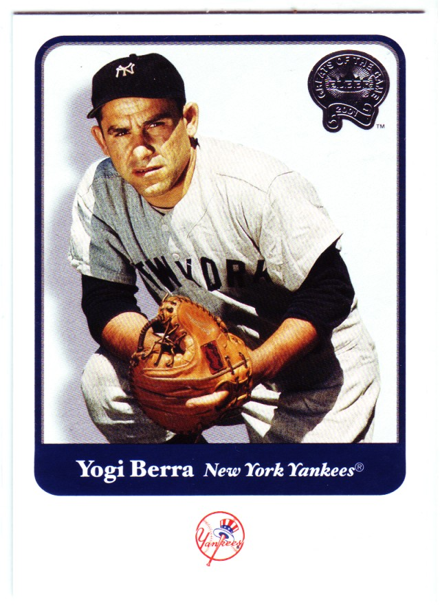 2001 Greats of the Game #73 Yogi Berra front image