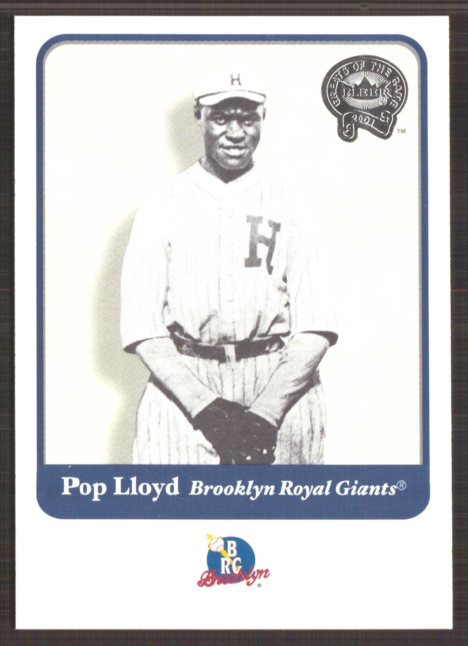 2001 Greats of the Game #76 Pop Lloyd