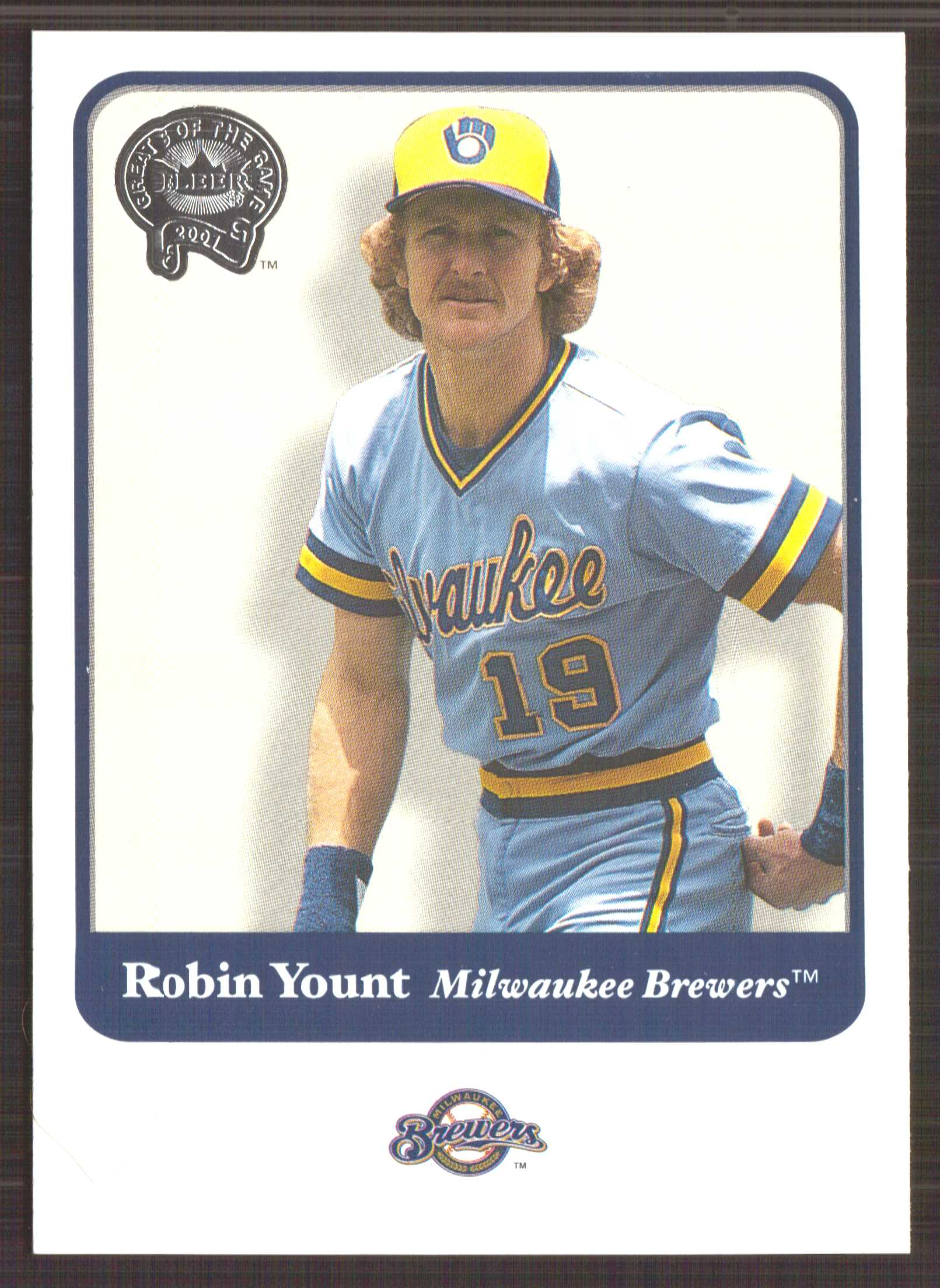 2001 Greats of the Game #83 Robin Yount
