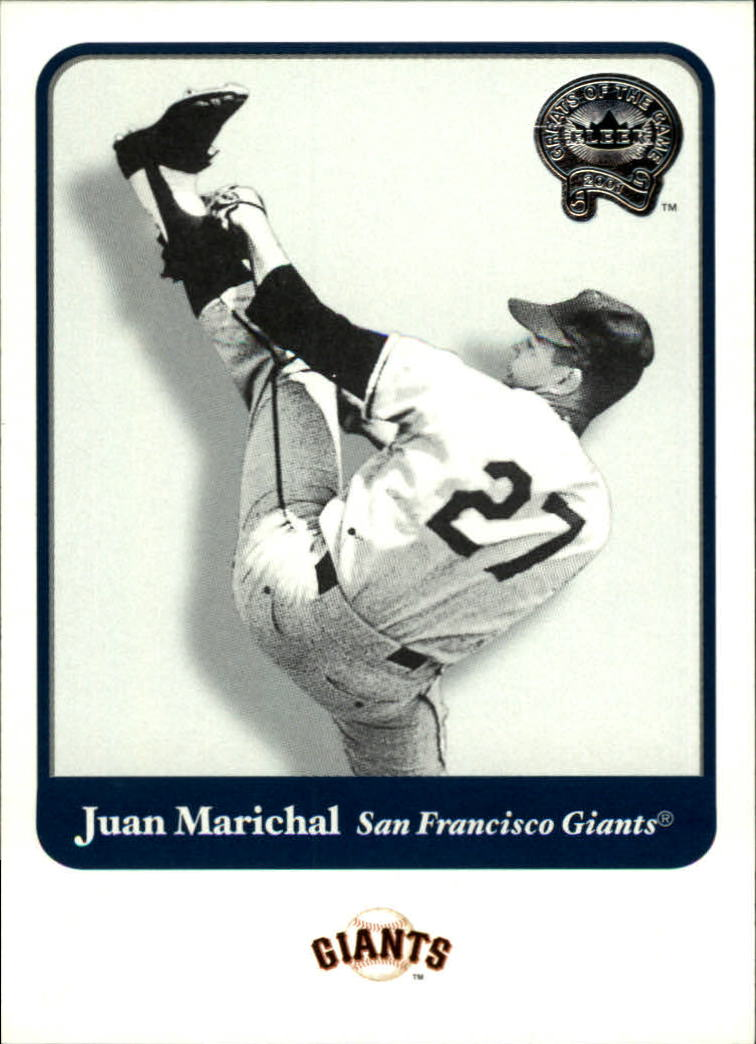 2001 Greats of the Game #88 Juan Marichal