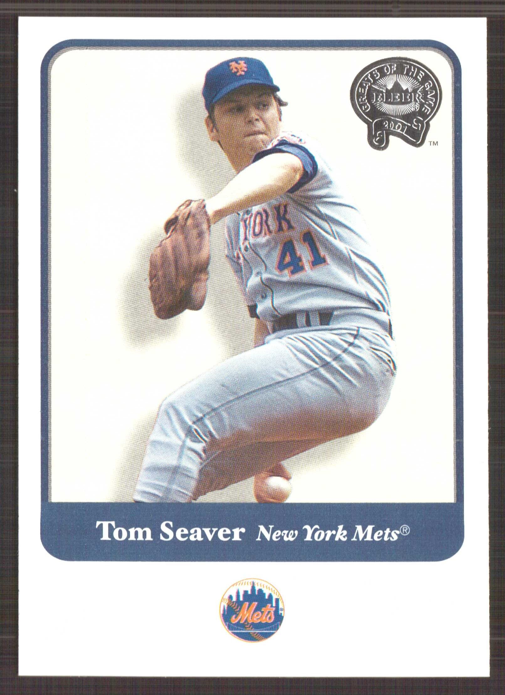 2001 Greats of the Game #89 Tom Seaver front image